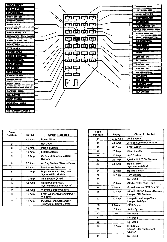 hight resolution of diagram for the 1997 ford ranger xlt 4 4 image