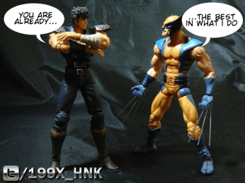 Kenshiro vs. Wolverine