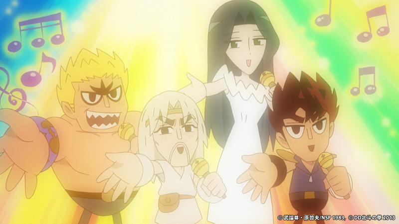 Dd hokuto no ken sintesi dei primi due episodi