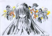 Saints di Athena in memoria di Shingo Araki