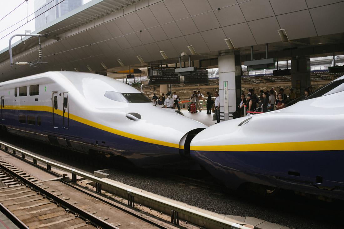 The famous Shinkansen!