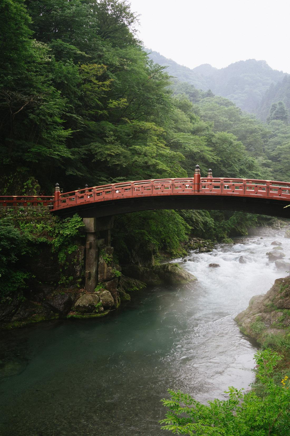 Shinkyo bridge, a magical sight.