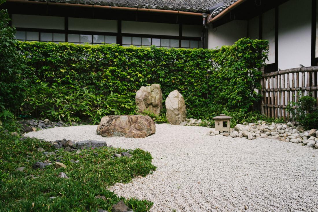 We actually were drawn to Shoren-in because of this miniature zen garden.