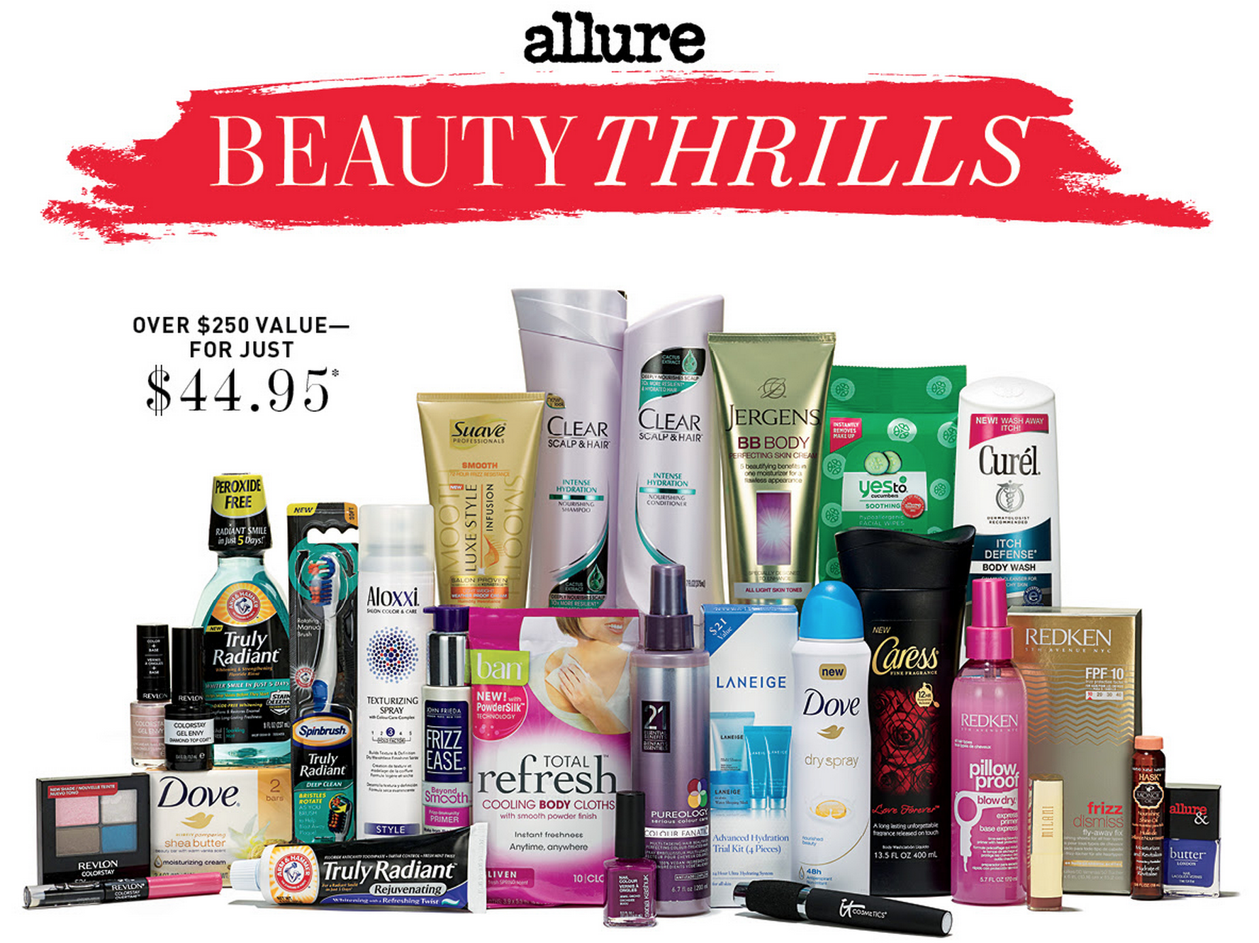 Allure Beauty Thrills July Box!