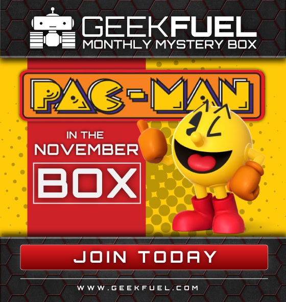 Geek Fuel November Spoiler #1 Pac Man