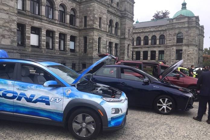 b.c. hydro powering up for more electric vehicle charging demand
