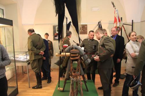11.03.2014 r. Otwarcie wystawy Ułani z Wołynia 119