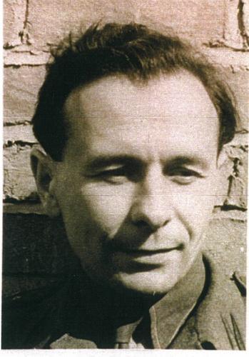 rtm. T. Bączkowski w 1945 roku ok