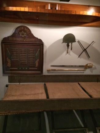 NYHS At War display