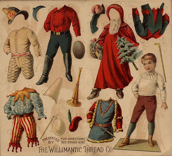 Image result for vintage 19th century paper dolls