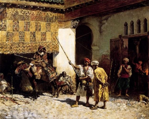 Edwin-Lord-Weeks-The-Arab-Gunsmith