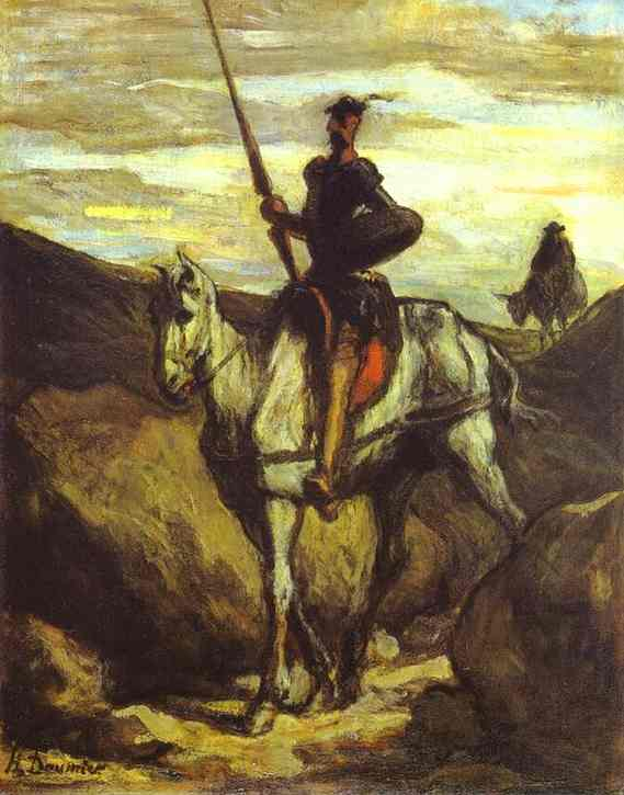 honore-daumier-don-quixote-and-sancho-pansa-1