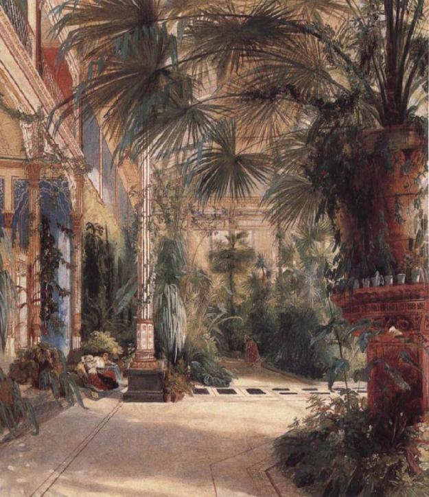 Carl Blechen-Palm_House