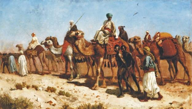 Edwin Lord Weeks - The Caravan