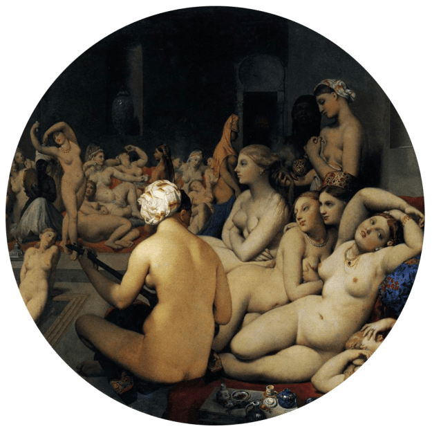 Jean-Auguste-Dominique-Ingres-TheTurkish-Bath