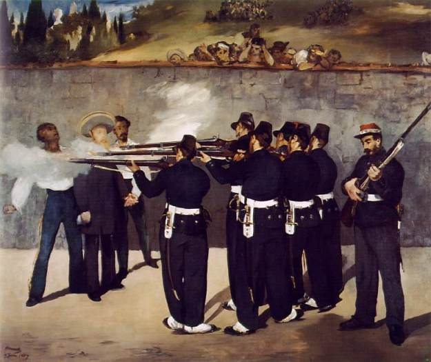 Manet_Execution_Maximilian_1867_Mannheim