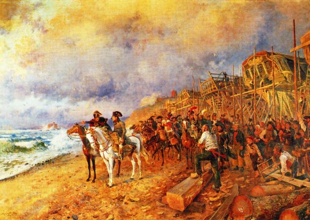 Napoleon at Boulogne_Orange
