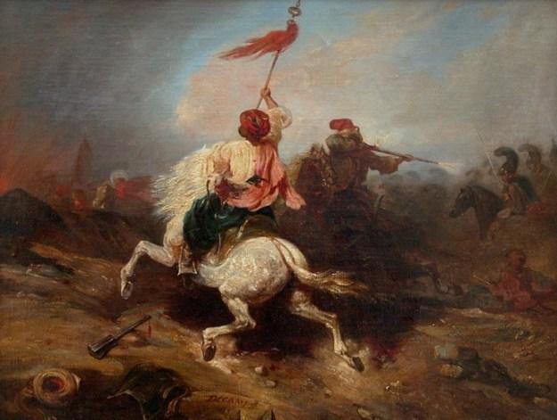 alexandre-gabriel-decamps-turkish-standard-bearer
