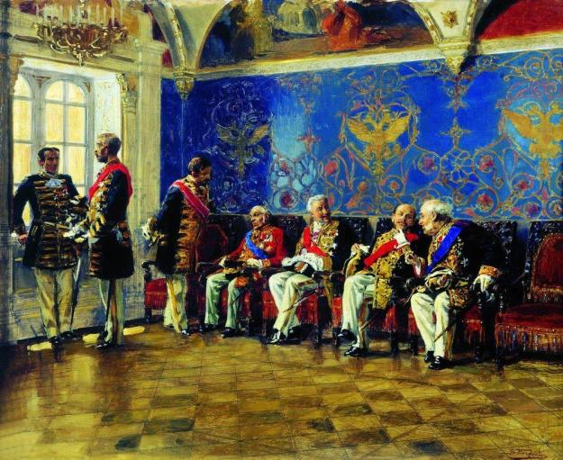 waiting-for-an-audience-1904-makovsky