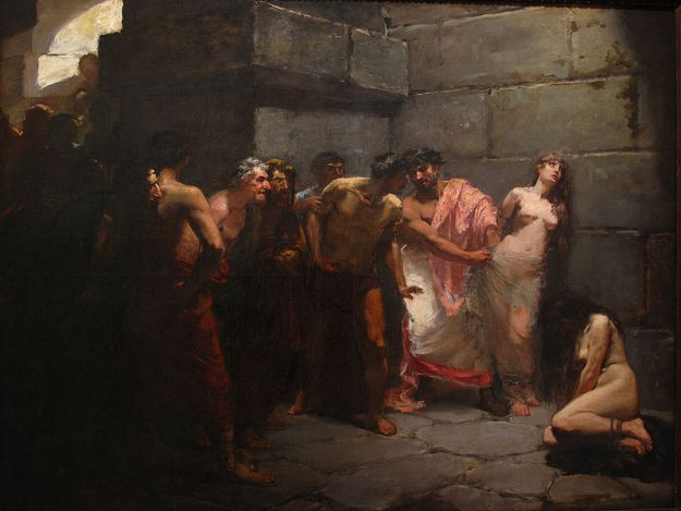 Las_Virgenes_Cristianas_Expuestas_Al_Populacho_(The_Christian_Virgins_Being_Exposed_to_the_Populace)_by_Felix_Ressureccion_Hidalgo_1884