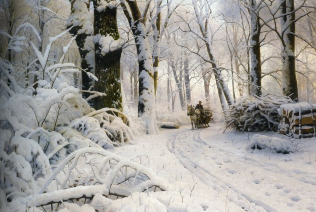 Peder_Mork_Monsted_Forest_in_snow