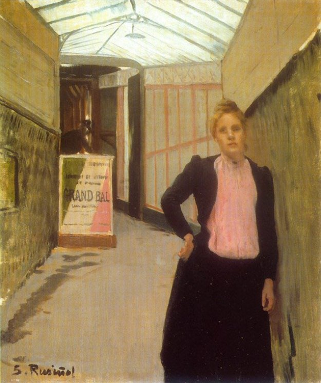 Moulin de la Galette Ticket Seller_rusinol