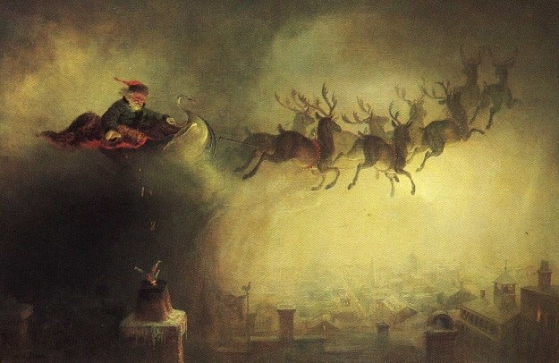 william_holbrook_beard_santa_claus