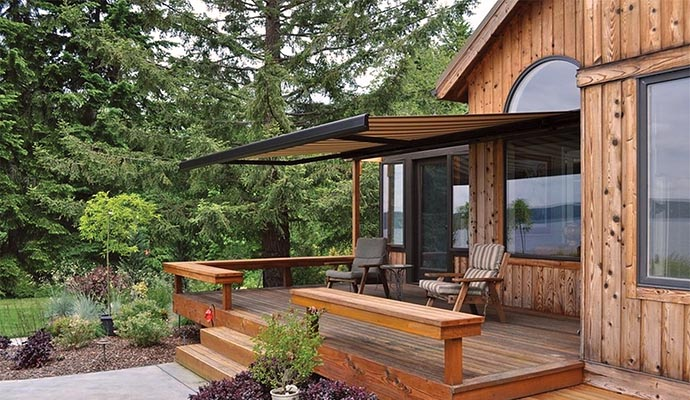 retractable awnings awnings shade