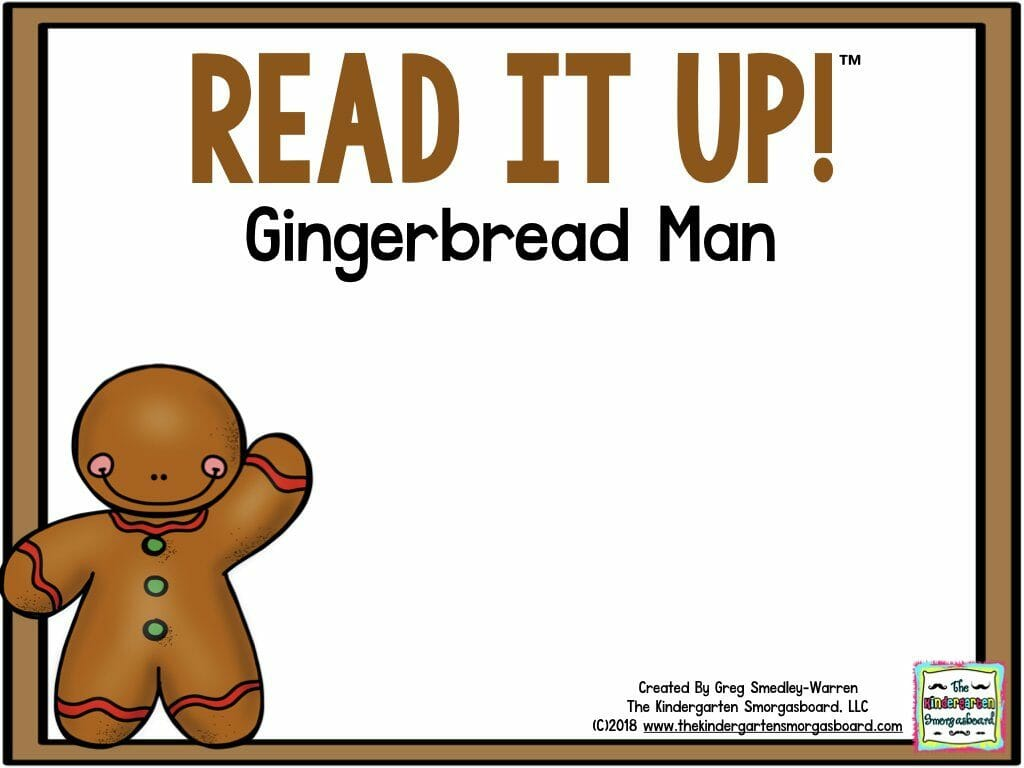 Gingerbread Writing Project
