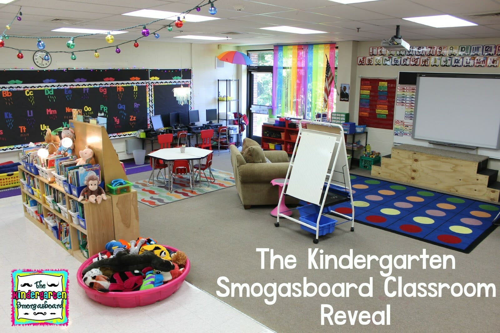 Classroom Reveal The Kindergarten Smorgasboard