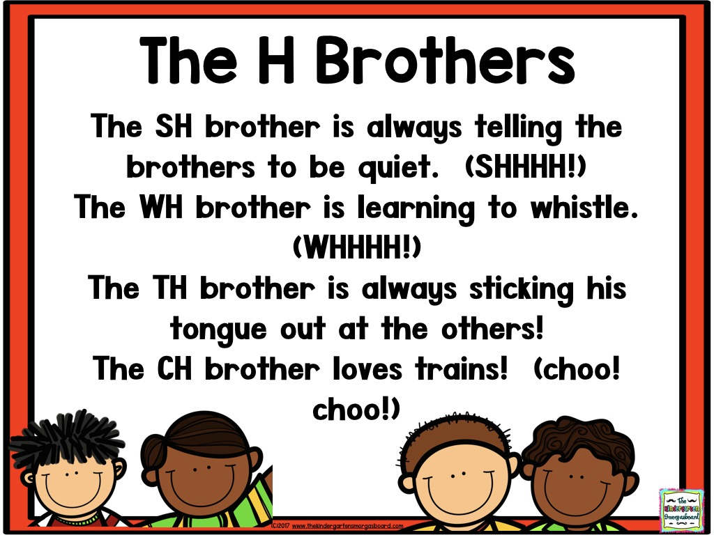The H Brothers Poem Sh Ch Th Wh 001 The Kindergarten