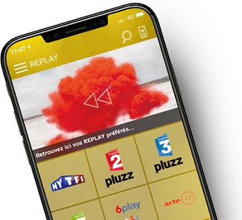 application mypartner sur la box la poste mobile