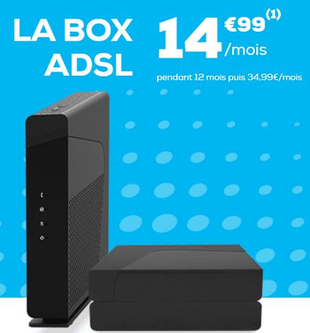 box la poste en promo à 14.99 euros