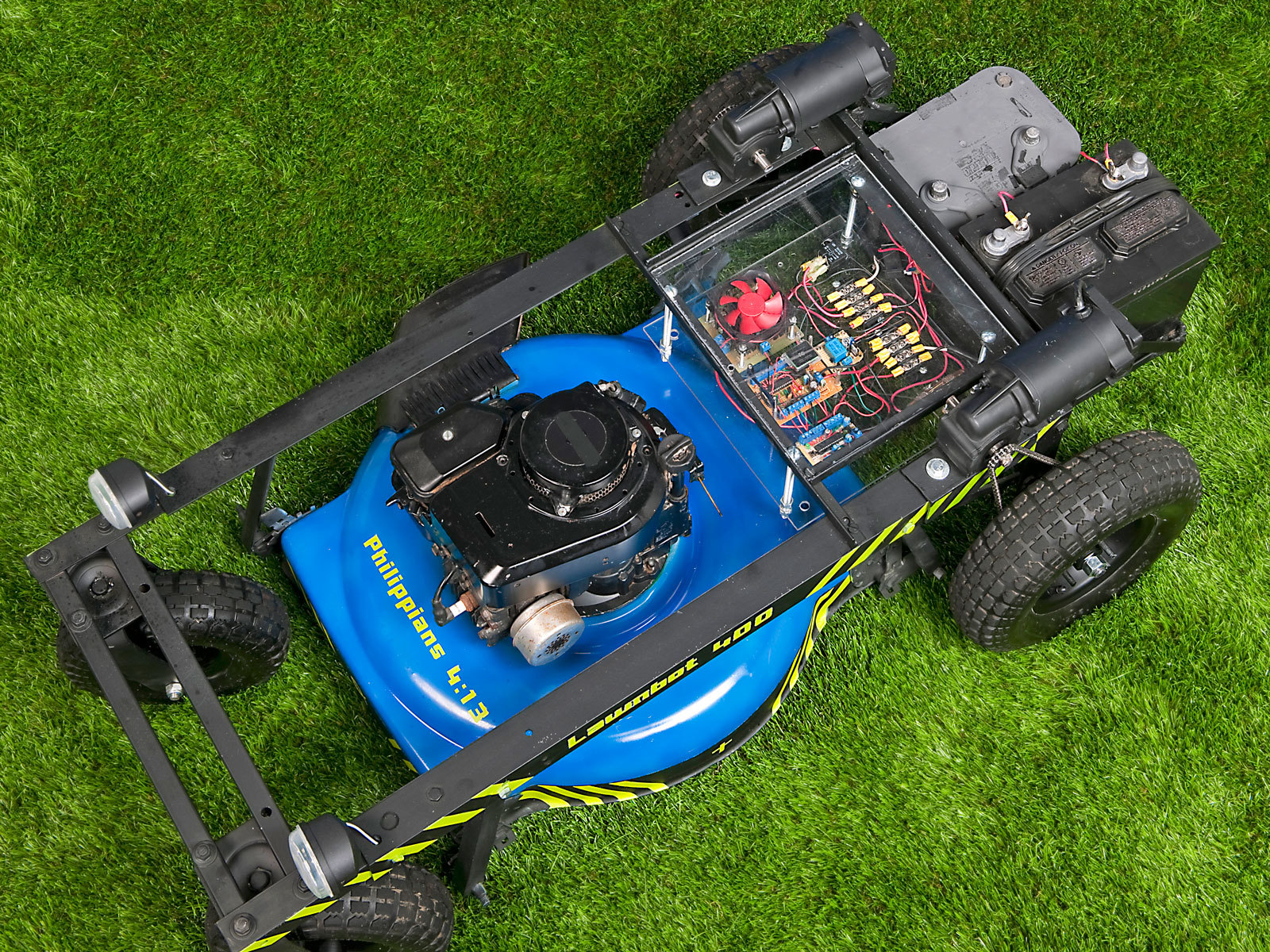 hight resolution of build a lawnbot 400