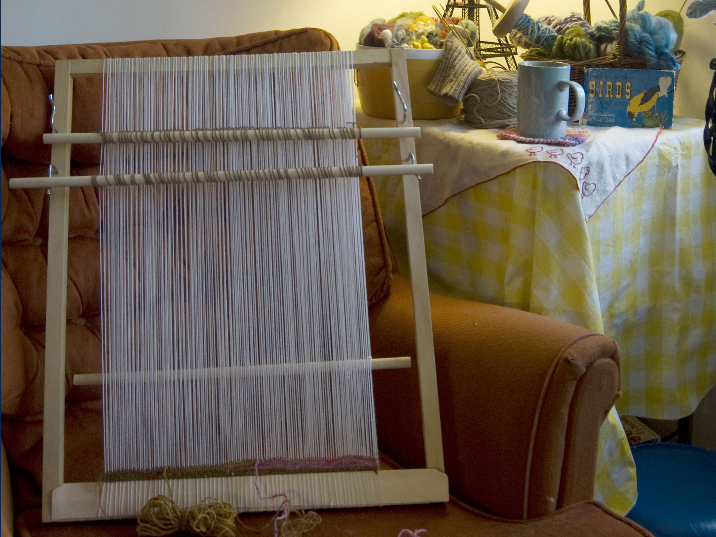 Your Heddle Loom Make Own