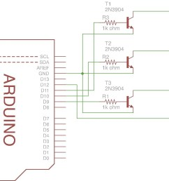arduino 4 pin 5mm full color led [ 1068 x 801 Pixel ]