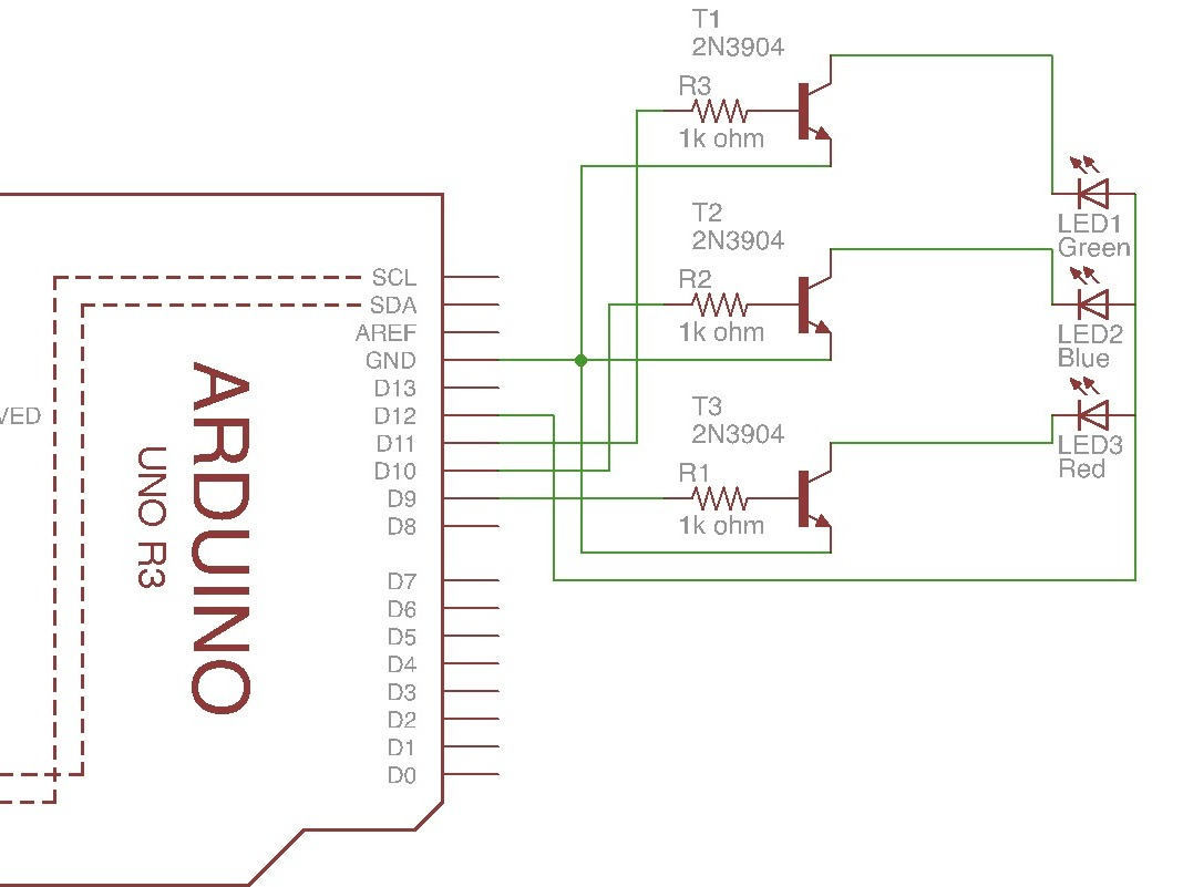 hight resolution of arduino 4 pin 5mm full color led