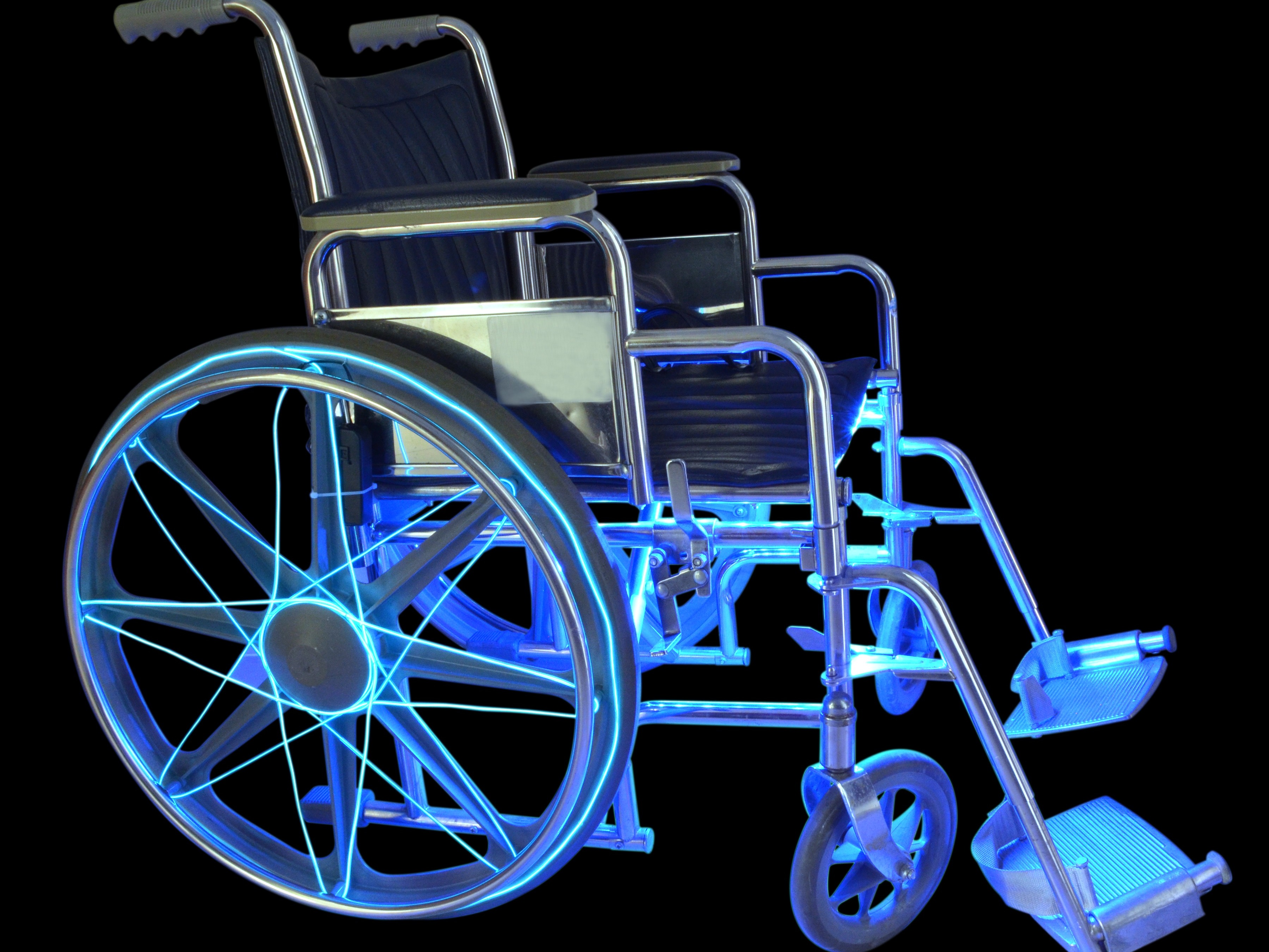 wheelchair project chair covers for kitchen table ez el wire led light make