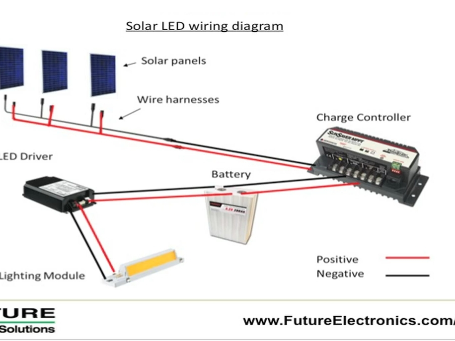 Led Solar Lantern Lights Circuit