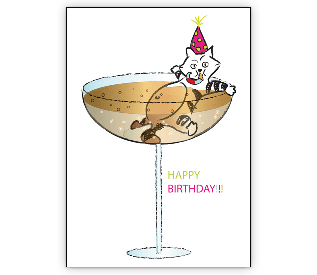 Happy Birthday Invitation