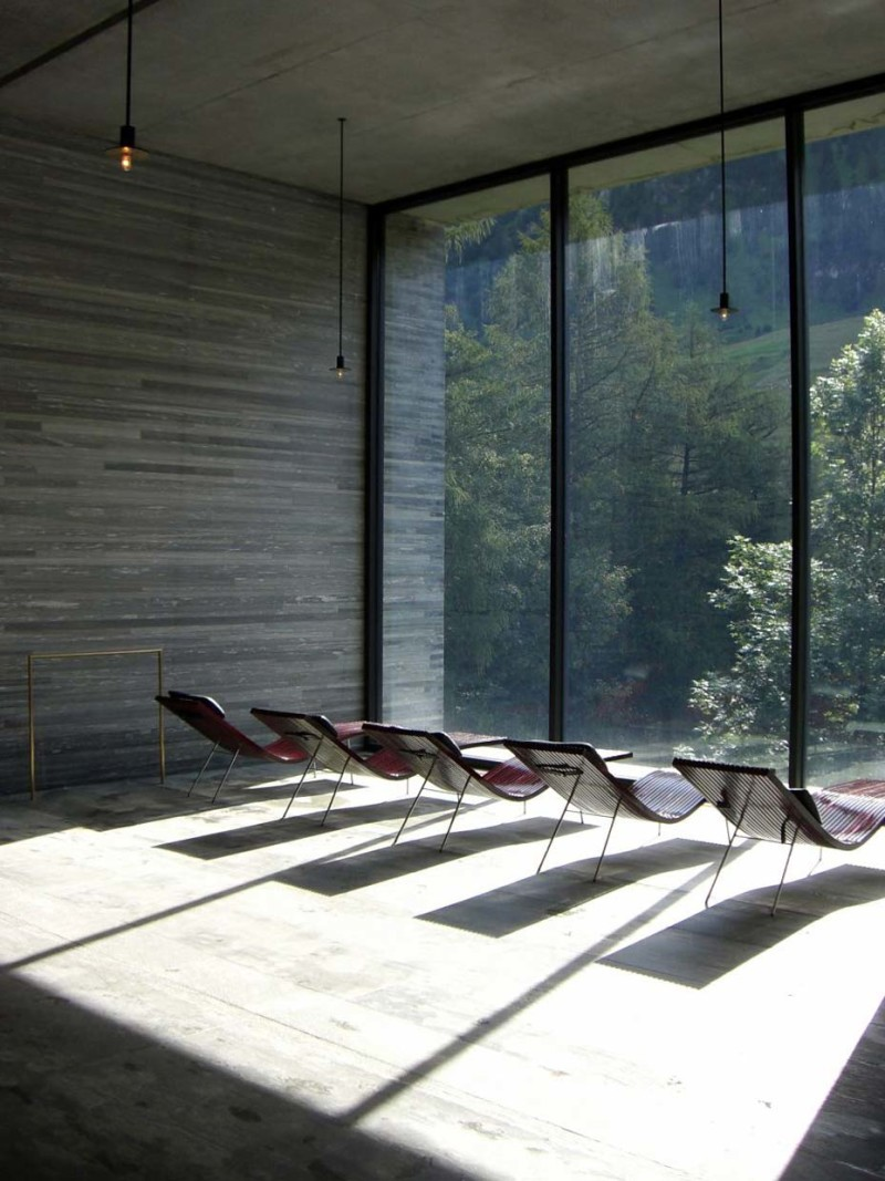Therme Vals A Sensory Experience In Switzerland