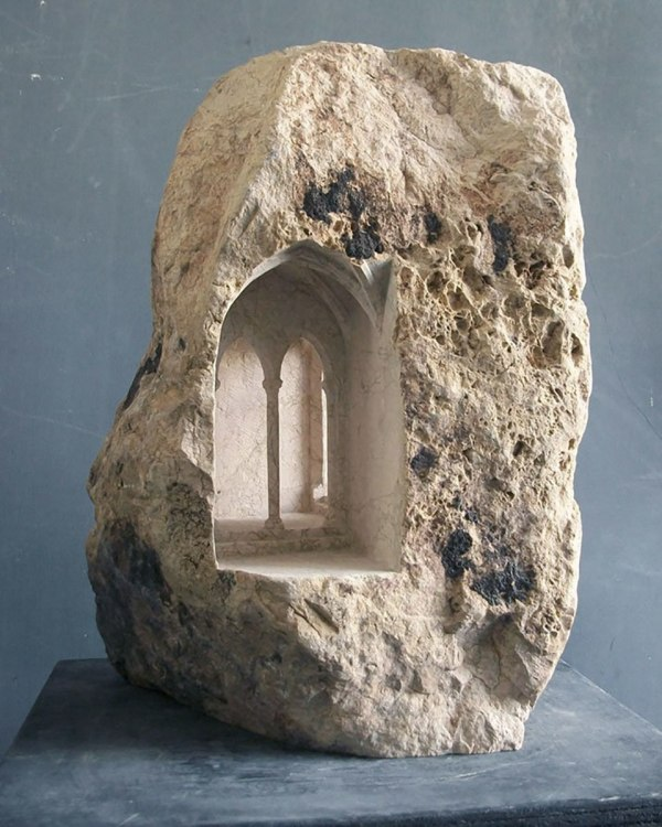 Matthew Simmonds Carves Amazing Architecture Of Stone And Marble Trendland