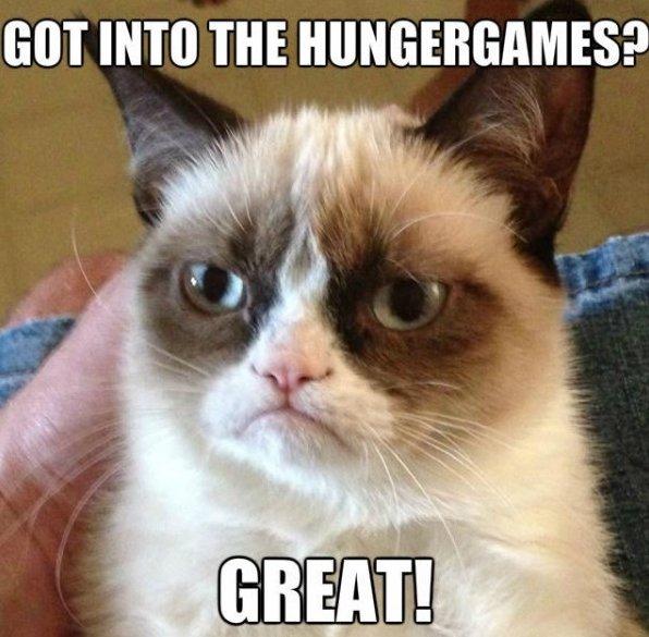 Grumpy Hungergames