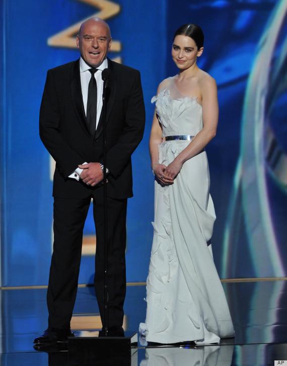 Emilia Clarke, Dean Norris