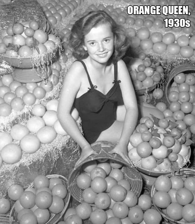Miss Orange, 1930s