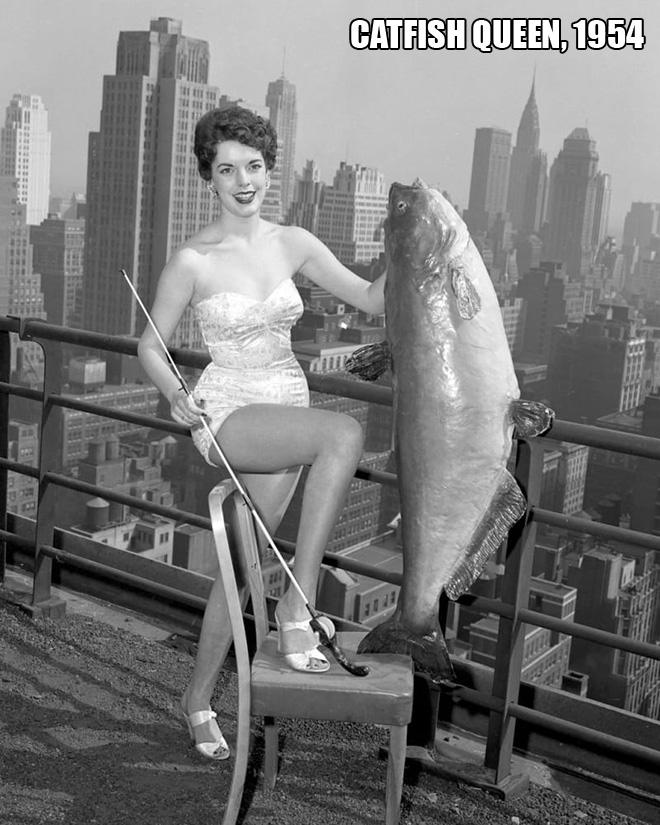 Miss Catfish 1954