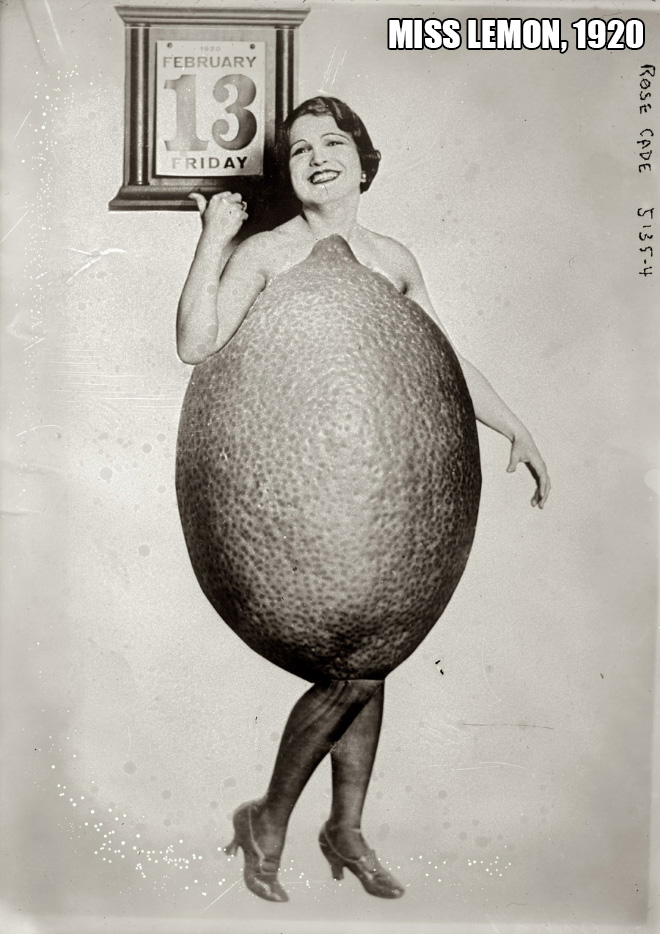 Miss Lemon, 1920
