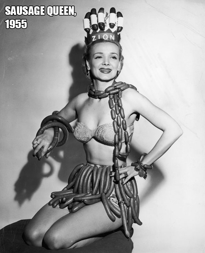 Miss Sausage, 1955