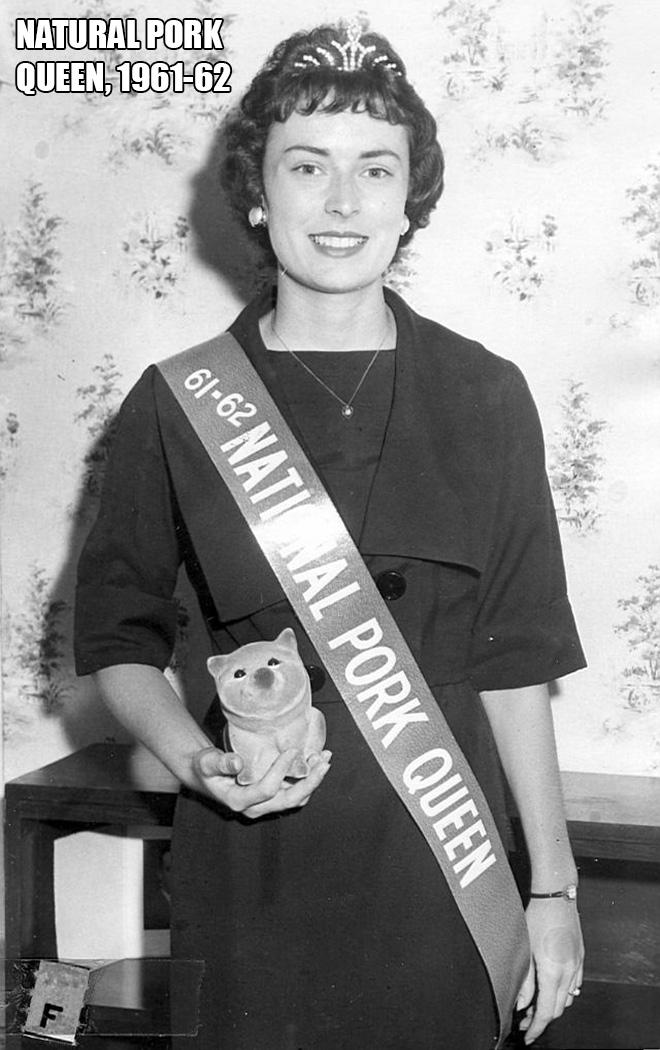 Miss Natural Pork, 1961-62
