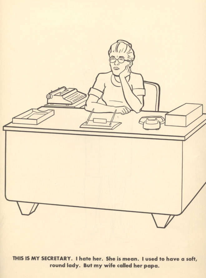 This is my secretary.